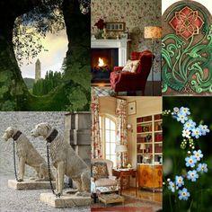 Scottish and Irish twist victorian English cottage love Ireland rose wolfhound outdoor. www.ouwbollig.eu https://www.facebook.com/ouwbollig.eu