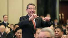 U.S. Secretary of Defense Ashton Carter arrives at the International Institute for Strategic Studies Shangri-la Dialogue, or IISS, for the 14th Asia Security Summit, Friday, May 29, 2015, in Singapore. The summit takes place until May 31. (AP Photo/Wong Maye-E)