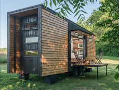 This tiny house is perfect proof that you can live stylishly in a small space.