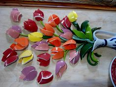 Mosaic Workshop with Dishes in Denver Sign up! by Solange Piffer
