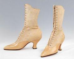 La toile de la robe 1910 Sybil et mes chaussures !