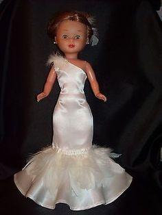 American Doll Clothes, Ag Doll Clothes, Vestidos Nancy, Barbie Bridal, Nancy Doll, Bride Dolls, Wellie Wishers, Special Dresses, Girl Dolls