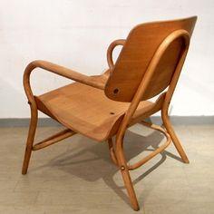 佐々木達三の秋田木工 曲げ木椅子