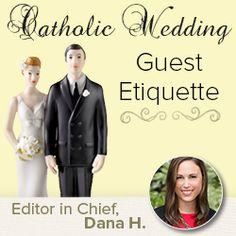 Catholic Wedding Guest Etiquette on: http://blog.gifts.com/etiquette/stellar-guest-guide-catholic-weddings
