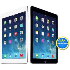 "Apple iPad Air with WiFi 9.7"" Touchscreen Tablet PC Featuring Apple iOS 7 Operating System, Refurbished"