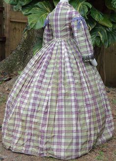 Original Civil War Era Day Dress C 1860 | eBay