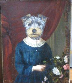 Thierry Poncelet (Belgian, b.1946). Portrait aux fleurs de la jeune marquise de G.