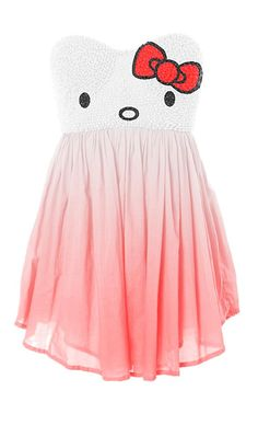 love this hello kitty party dress!