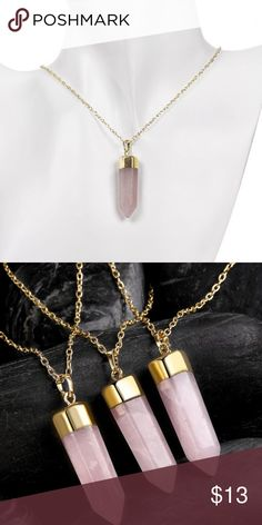 Natural Shape Crystal Adorn Bullet Necklace - Pink This Item is located in Morocco, and shipping will take approximately 14 days .the shipping cost is included. Note: natural product Item Type: Pendant Collarlace Gender: For Women Style: Noble and Elegant Shape/Pattern: Others Weight: 0.0280kg Package: 1 x Collarlace Jewelry Necklaces