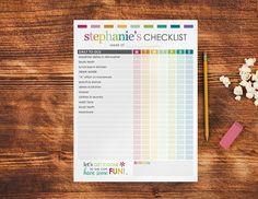 individual checklist