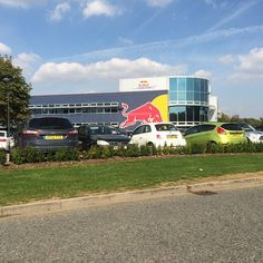 A visit to #RedBull today to discuss ongoing work