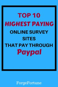 Do you want to make money online? Here are some best survey sites that actually pay. You can earn some good cash through these best survey sites. Check them out! Online Survey Sites, Online Surveys For Money, Survey Sites That Pay, Make Money Online, Earn More Money, Earn Money From Home, Make Money Blogging, Saving Money, How To Make Money
