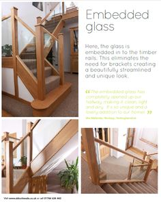 Embedded Glass Staircases