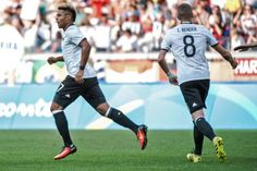Thierry Henry-esque: Arsenals Serge Gnabry scores yet again as Germany win 4-0 (Video)