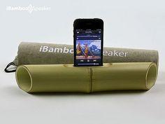 iBamboo Speaker : Amplificateur Naturel pour iPhone (video)