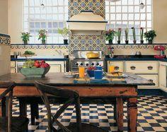 Cozinhas lindas por aí… | Figos & Funghis