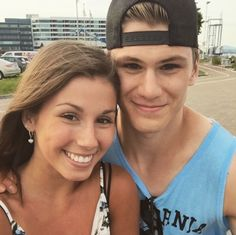 Wives and Girlfriends of NHL players Audrey Dionne & Samuel Morin