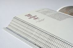 front-edge of a book / designed by Design by Atlas