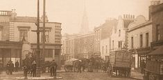Battersea Square / High St in 1910