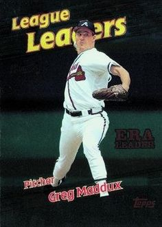 1999 Topps 231 Greg Maddux LL - Atlanta Braves (League Leaders) (Baseball Cards) *** Check out this great product. Greg Maddux, Atlanta Braves, Sports Fan Shop, Trading Cards, Mlb, Baseball Cards, Check, Products, Beauty Products