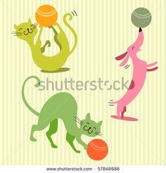 Dogs And Cats Children Fotos, imagens e fotografias Stock | Shutterstock