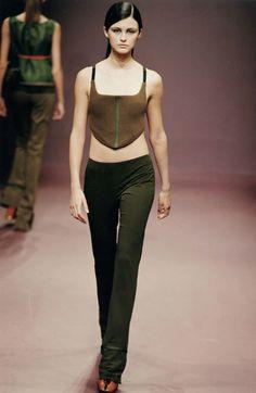 FW 1999 Womenswear | PRADA 90s Fashion, Runway Fashion, High Fashion, Fashion Show, Vintage Fashion, Womens Fashion, Modern Fashion, Fashion Boots, Looks Style