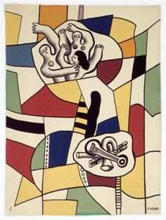 Fernand Leger (1881 - 1955) | Purism | Dance