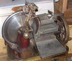Grote Foto Te Koop Gevraagd Oude Berkel Snijmachines Antiek Algemeen