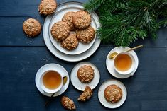 Ginger Spice Cookies with Cinnamon Oat Crunch ° eat in my kitchen