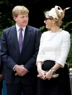 Posted on July 1, 2013 by HatQueen.....As today is the 150th anniversary since the abolition of slavery in the Dutch colonies, King Willem-Alexander and Queen Máxima of the Netherlands attended a special National Slavery Memorial Service in Amsterdam.
