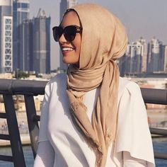 """11.9k Likes, 38 Comments - Hijab Fashion (@hijabfashion) on Instagram: """"Checkout @ambreenista in this beautiful beige scarf by @modest_now  #hijabfashion"""""""