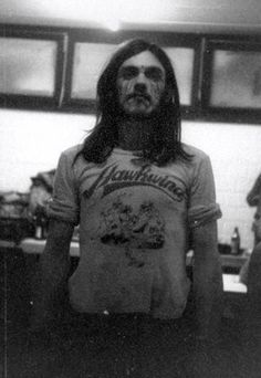 "Lemmy in Hawkwind - ""That was a great time, the summer of '71. I can't remember it, but I'll never forget it"" — Lemmy"