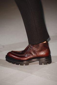 Prada Fall 2013 Menswear Fashion Show Sock Shoes, Men's Shoes, Shoe Boots, Dress Shoes, Men Boots, Italian Shoes For Men, Best Shoes For Men, Gentleman Shoes, Winter Sneakers