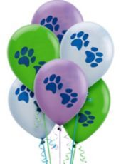 Latex Party Pups Birthday Balloons 11in 6ct - Party City