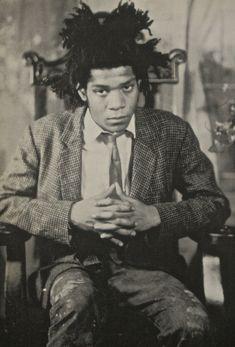 Jean-Michel Basquiat, 1982 by James Van Der Zee. Estate of James Van Der Zee, courtesy Donna Van Der Zee