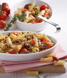 Nudelauflauf Mit Hackfleisch on Pinterest | Noodle Casserole, Pasta ...