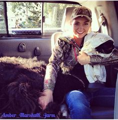 Amber Marshall taking home Betty the Alpaca in the back of her truck Heartland Season 11, Watch Heartland, Heartland Tv Show, Heartland Ranch, Canadian Actresses, Actors & Actresses, Movies Showing, Movies And Tv Shows, Dangerous Sports