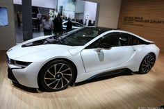 BMW i8: BMW put a lot of work into developing carbon fiber production for the i8. The car uses a carbon fiber reinforced plastic body and aluminum suspension elements.