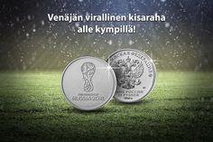 FIFA MM-kisat 2018 ovat meneillään Venäjällä! Tutustu Venäjän viralliseen MM-kisarahaan ja muihin FIFA tuotteisiin. Monet, Fifa, Personalized Items