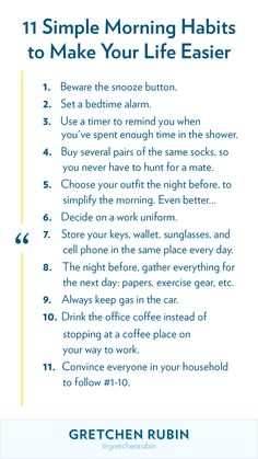 By figuring out easy, quick ways to make it faster to head out the door, we can give ourselves a bigger margin of time. Need some ideas? Here are eleven simple morning-related habits that may make your life easier. Social Work Interventions, Understanding Emotions, How To Become Happy, Mental Health Journal, Happiness Project, Morning Person, Get Your Life, Gentle Parenting, Cbt