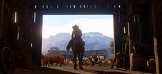 The Epic New Trailer for 'Red Dead Redemption is Here and It's 'Westworld' Meets 'Grand Theft Auto' Red Dead Redemption, Disney Pixar, Take Two Interactive, 4k Background, Scary Halloween Decorations, Marvel, New Trailers, Grand Theft Auto, Old West