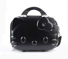 Hello Kitty Mini Suitcase: Black