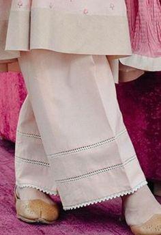 Salwar pants - Cheap High Fashion Women S Clothing Code 2968776264 Salwar Designs, Kurta Designs Women, Kurti Designs Party Wear, Pakistani Fashion Casual, Pakistani Dresses Casual, Pakistani Dress Design, Sleeves Designs For Dresses, Dress Neck Designs, Sleeve Designs