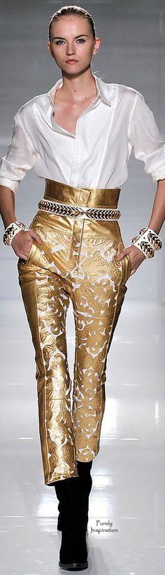 Balmain SS2012 | Purely Inspiration http://www.style.com/fashion-shows/spring-2012-ready-to-wear/balmain