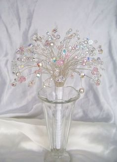 crystal bouquet - Google Search
