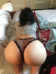 Big round ass bent over