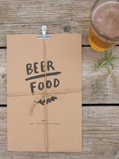 beer + food