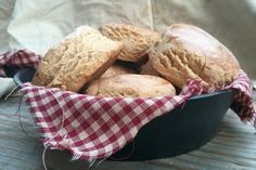 Country Biscuits Farmhouse Fake Food (Single Biscuits)