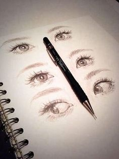 eyes draw More