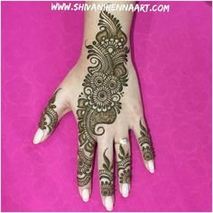 Henna with style and passion ! ------------------------------------------ For the booking questions, please email us at… Mehndi Designs Book, Full Hand Mehndi Designs, Simple Arabic Mehndi Designs, Mehndi Designs 2018, Mehndi Designs For Girls, Mehndi Designs For Beginners, Modern Mehndi Designs, Dulhan Mehndi Designs, Mehndi Design Pictures